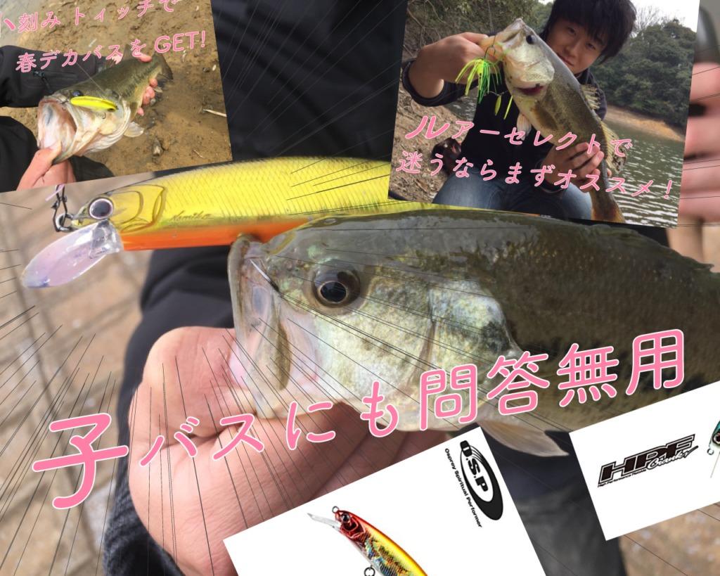 春のバス釣りに使いたい!実績ありのオススメルアー3選