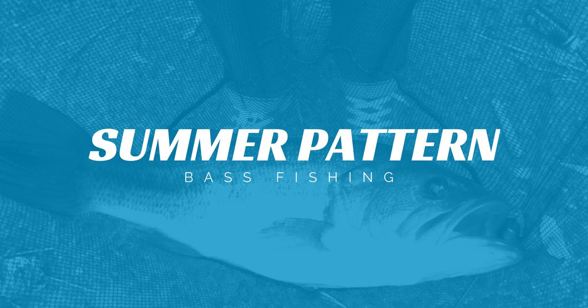 【バス釣り】夏の釣りにオススメの3パターンをご紹介!