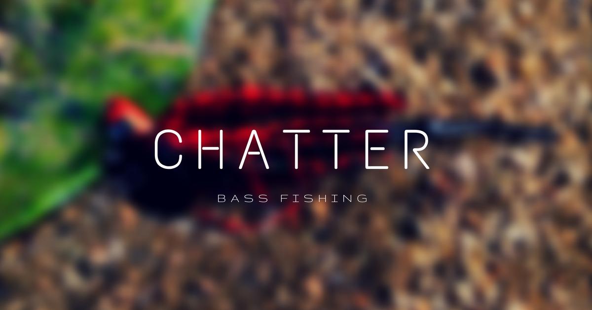 【バス釣り】チャターベイトで釣るために大事な3つのポイント!