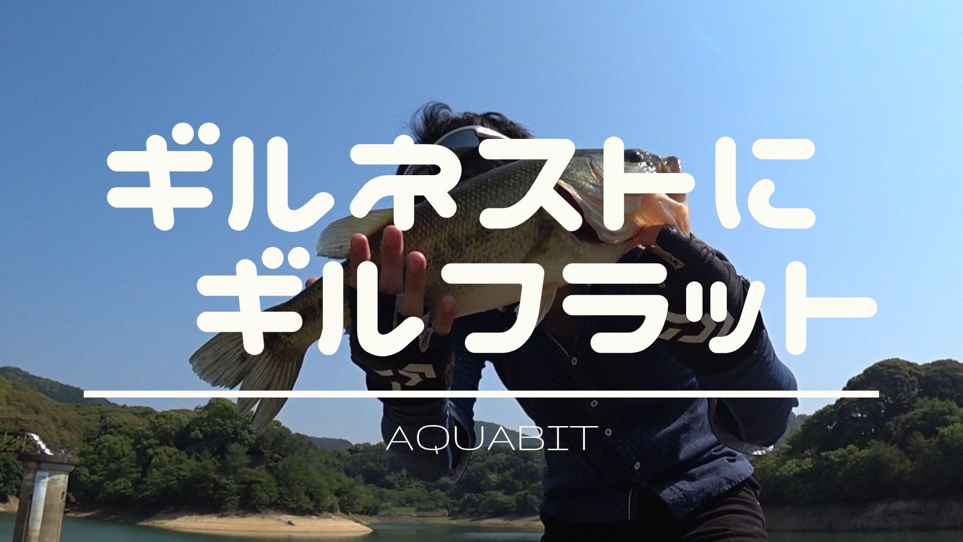 【Youtube】ギルネストにデカバスを発見!isseiギルフラットで勝負に挑んだ動画をアップ!!