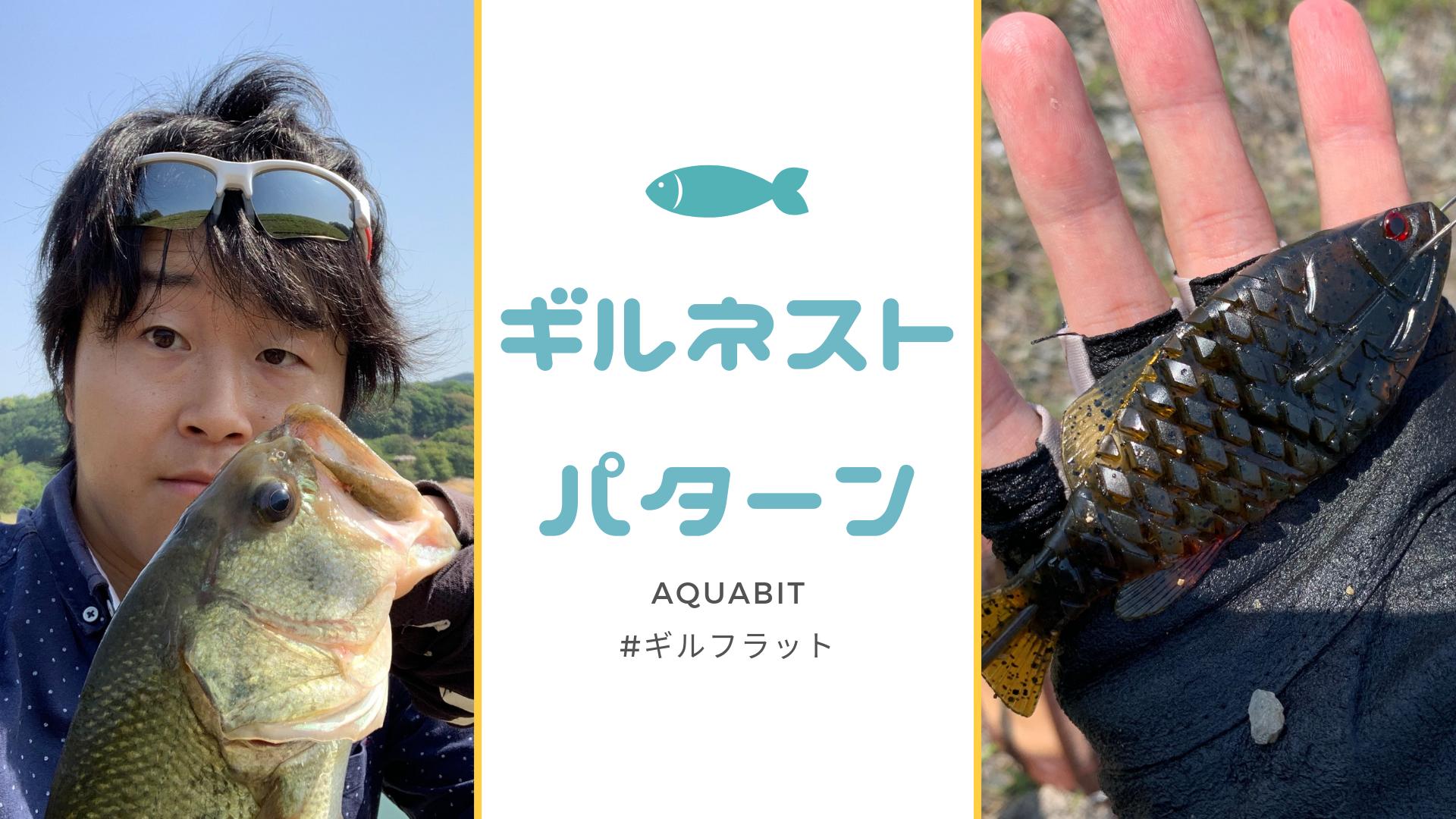 isseiの人気ギル系ワーム、ギルフラットのセッテングをご紹介!おすすめはギルネストパターン!!
